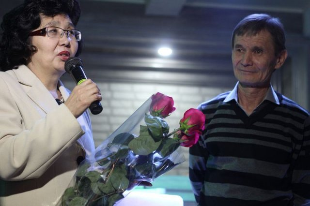 творческий вечер Кушербаева