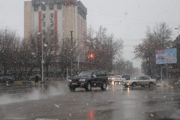 Зима в Шымкент вернулась ненадолго