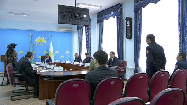 """В Южно-Казахстанском филиале партии """"Нур Отан"""" прошел очередной общественный прием"""