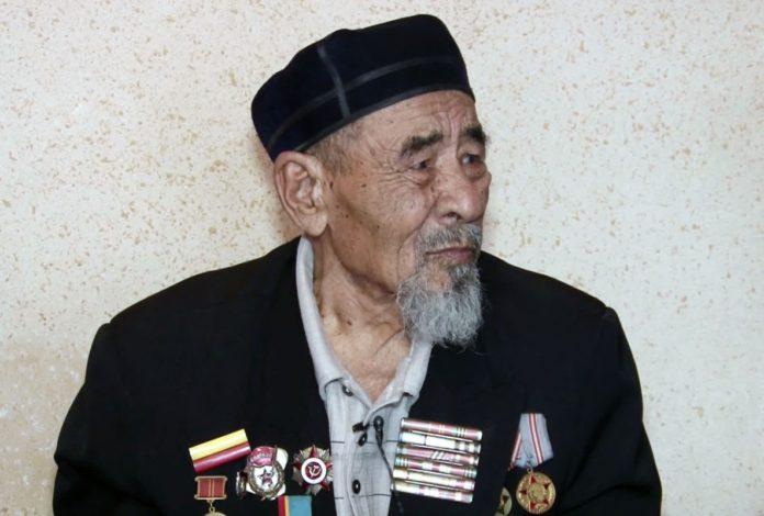 Вскоре 90-летний юбилей отметит ветеран войны Нышан Нысыров