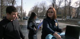 Специалисты управления исполнения судебных актов и прокуратуры Енбекшинского района совместно с сотрудниками дорожно-патрульной полиции провели рейд на городских дорогах по неплательщикам штрафов