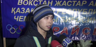 Шымкентский боксер Сакен Бибосинов стал чемпионом РК