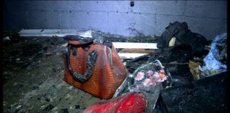 Пожар в универмаге на пл. Ордабасы