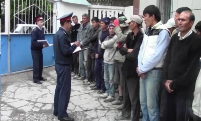 В ЮКО за 3 дня выявлено более 800 незаконных мигрантов