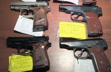 На юге с начала года выкуплено более 750 единиц оружия