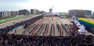 Шымкент празднует Наурыз в новом административном центре