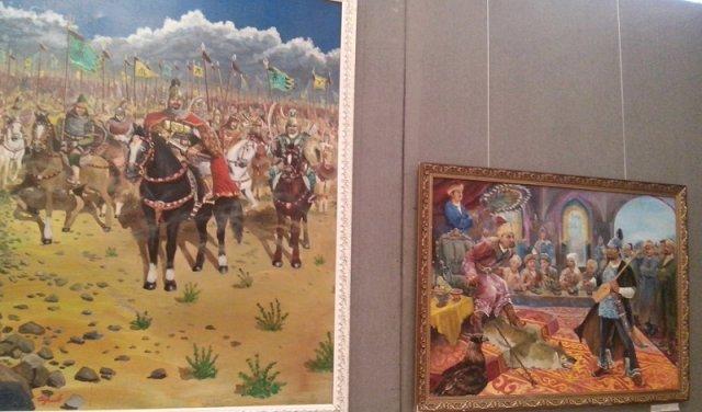 Первая выставка музея проходит по четырем тематикам
