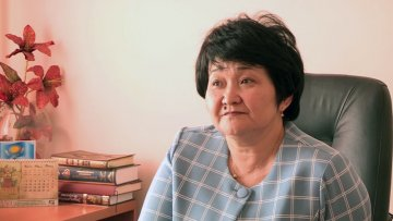 Гульнар Аширбаева, заведующая сектором жилья г. Шымкента