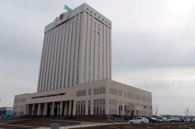 Новый административно-деловой центр Шымкента, расположенный в микрорайоне «Нурсат»