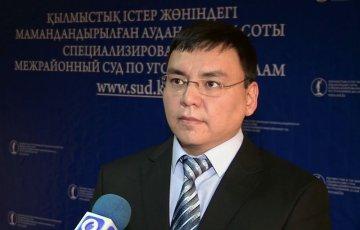 Даурен Мадалиев, судья уголовного суда ЮКО