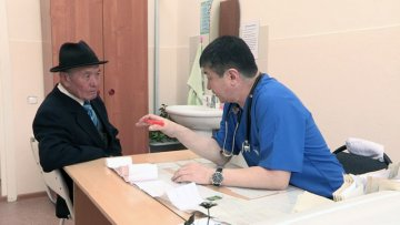 В областной клинической больнице прошел день открытых дверей для ветеранов ВОВ