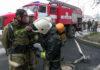 В психоневрологическом диспансере прошли учения пожарных