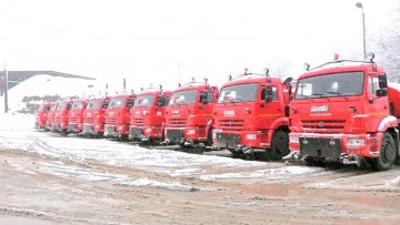 Выпавший снег стал неожиданностью для коммунальных служб Шымкента