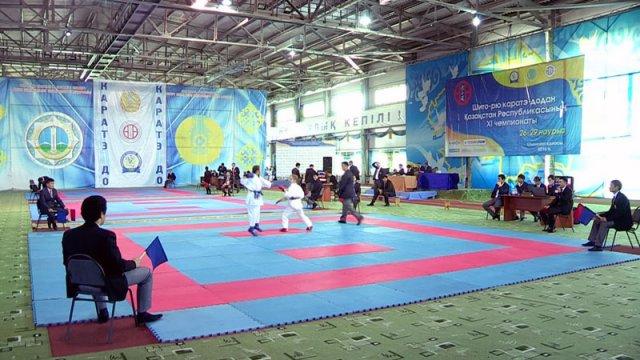 В Шымкенте прошел чемпионат Казахстана по каратэ-до