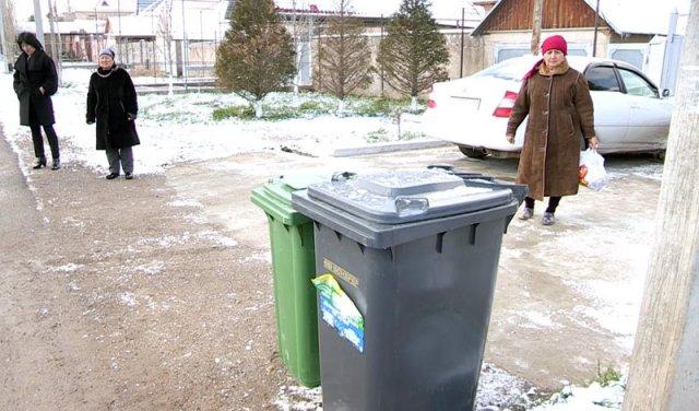 В Шымкенте стартовал пилотный проект по раздельному сбору отходов
