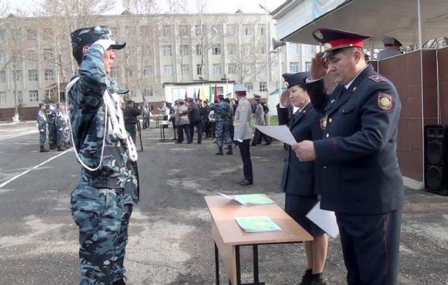 117 выпускников учебного центра МВД РК им Б.Момышулы доказали свою профпригодность