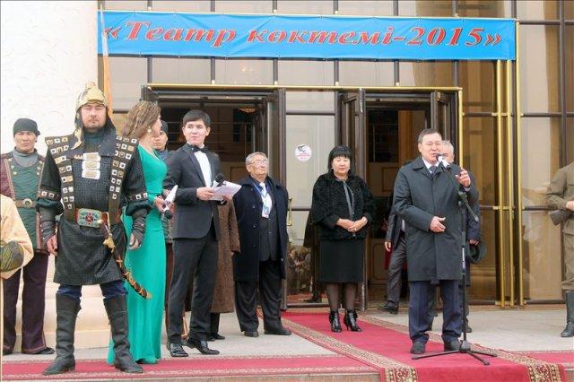 С приветственным словом выступил заместитель акима Южно-Казахстанской области