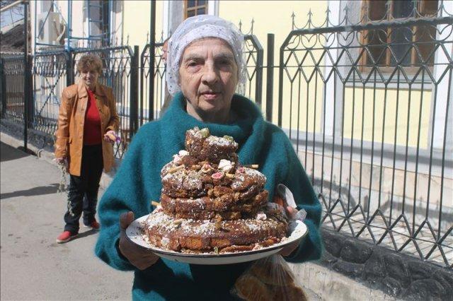Гордость ярмарки - праздничный торт