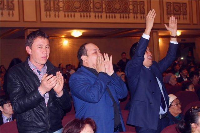 Победителям аплодировали стоя!