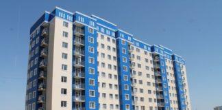 В новом административном центре Шымкента очередники получили жилье