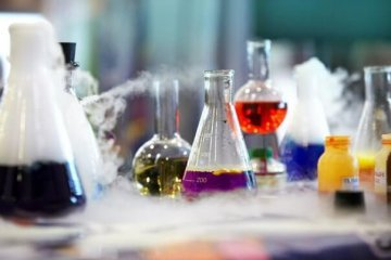 Химия. Лаборатория. Реактивы