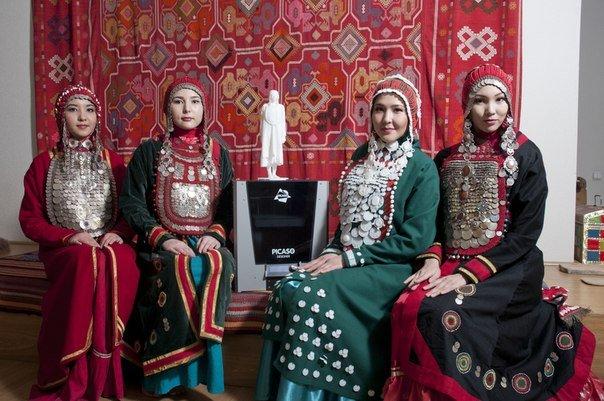 Первый в мире башкирский национальный 3D-костюм везут на 3D Print Conference в Алматы