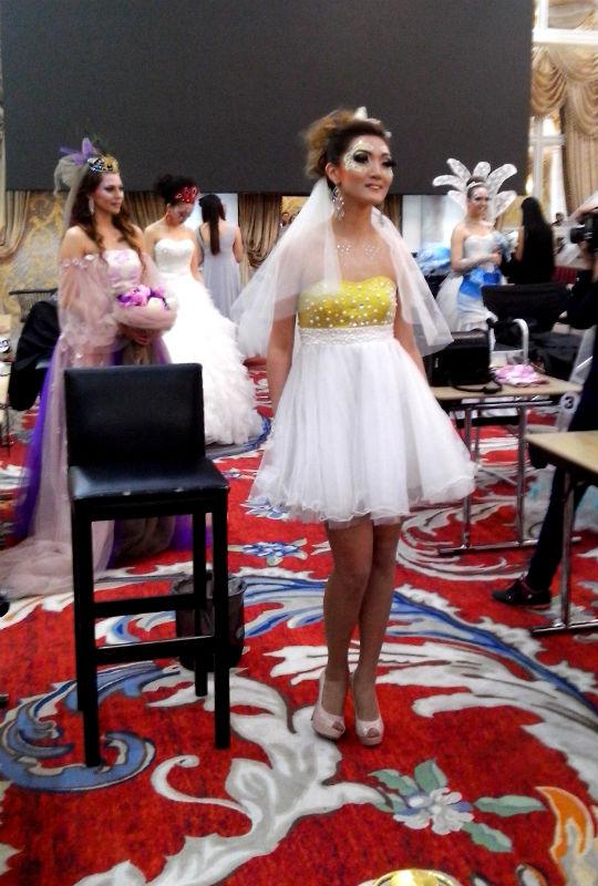 Соревнования проходили в двух номинациях: свадебный и подиумный макияж