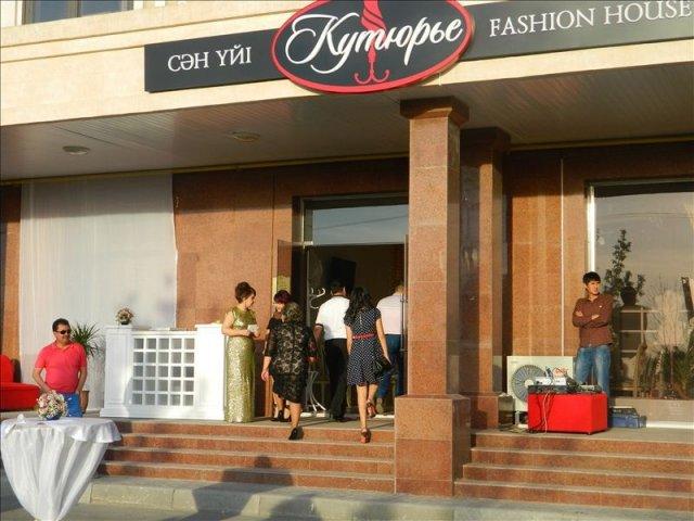 Дизайнер Улугбек Салиев открыл в Шымкенте дом моды с собственным брендом