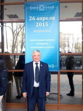 Инспектор службы безопасности посольства РК в РФ Талгат Кубелеков.