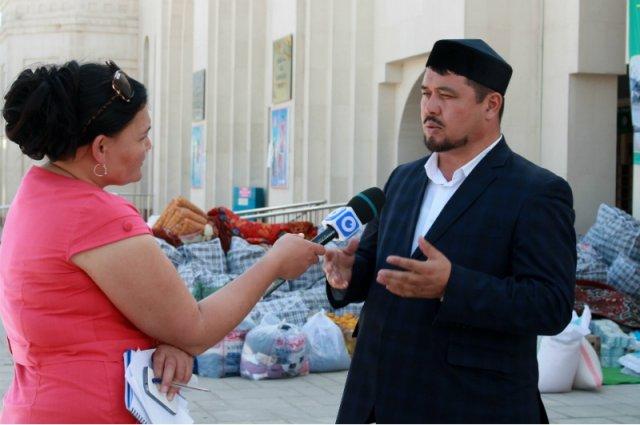 Священнослужители ЮКО отправляют гуманитарную помощь карагандинцам