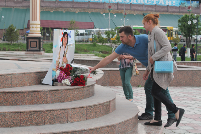 Шымкент простился с Батырханом Шукеновым