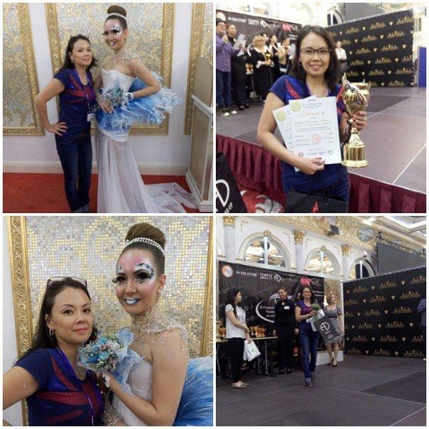 Первое место. Категория юниор. Номинация свадебный макияж, авт. Зарема Османханова