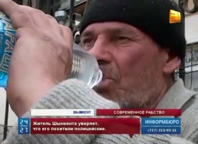 Житель Шымкента уверяет, что его похитили полицейские