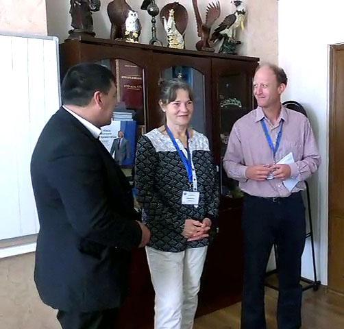 Наблюдатели ОБСЕ познакомились с работой ТК