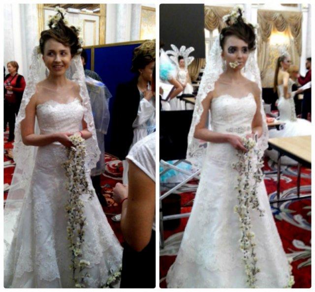 Свадебный образ до и после