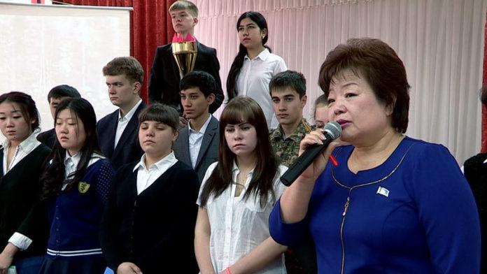 Школы Шымкента проводят эстафету