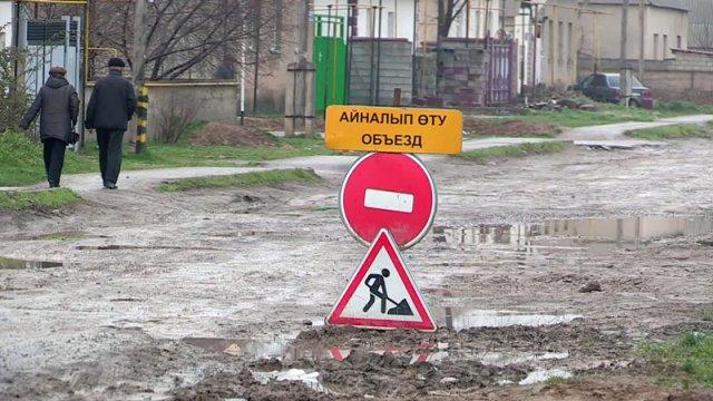 Реконструкция дороги по улице Аль-Фараби завершится к концу года
