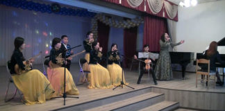 Выступление на сцене Назым Туганбек