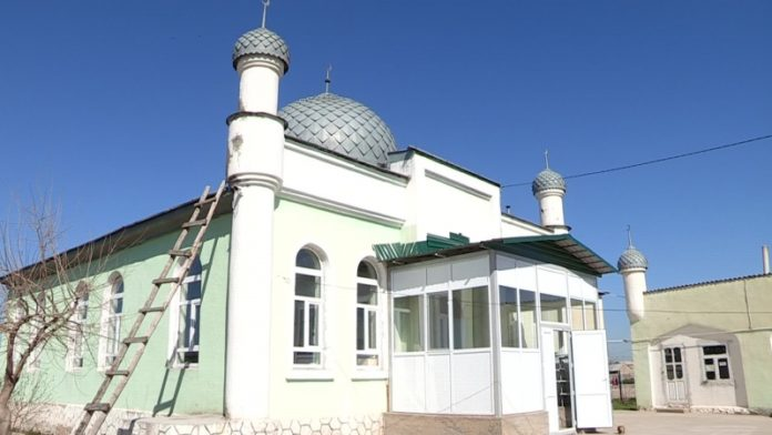 Мечеть в микрорайоне