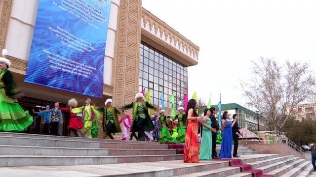 В Шымкенте начался фестиваль национального творчества