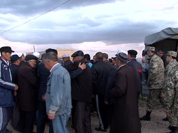 Груз 200 прибыл в Шымкент из Актау