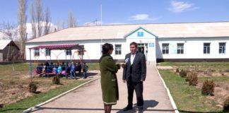 В селе Жанаталап ученики могут остаться без школы