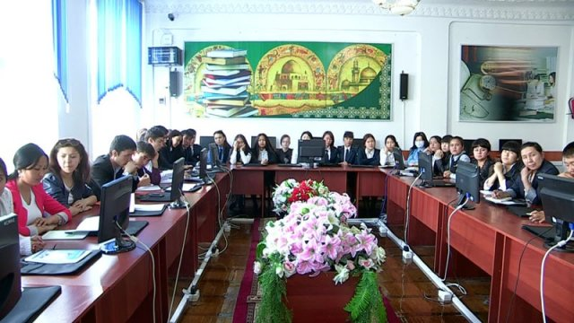 Семинар с участием представителей юстиции, городского отдела ЗАГСа и студентов по фамилиям