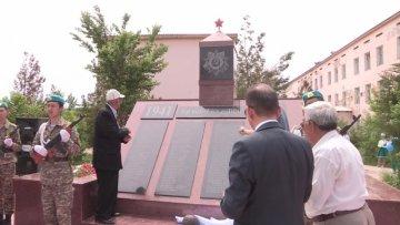 Памятник ветеранам отреставрировали в школе-гимназии № 99