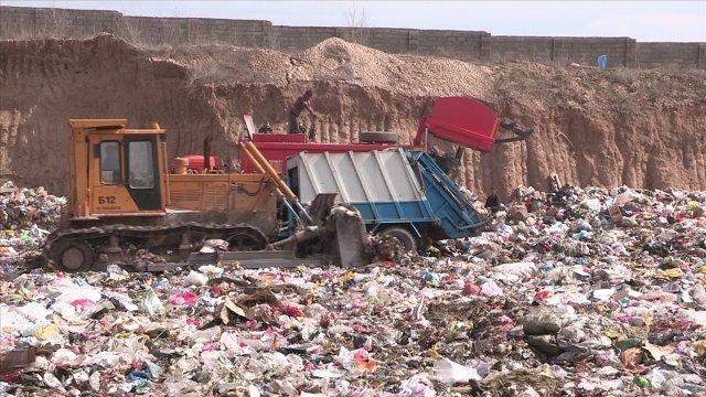Старый мусорный полигон Шымкента закрыт