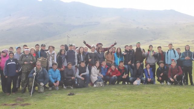 Молодежь Шымкента отправилась покорять вершину Казыгурт.