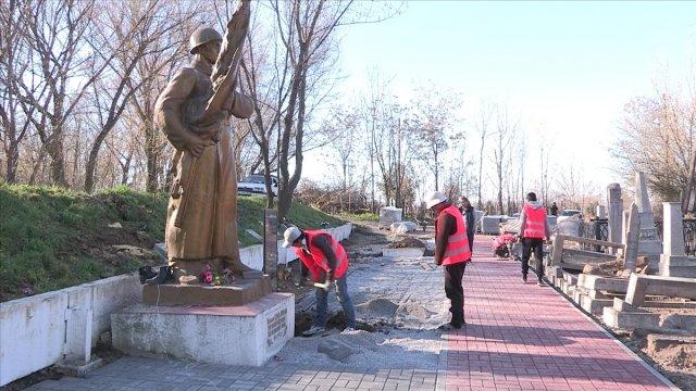 """Началась реконструкция захоронений на """"Карте героев"""""""
