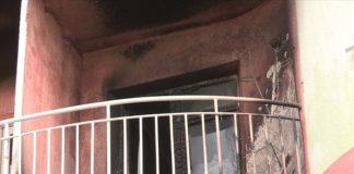 В центре Шымкента произошло возгорание квартиры в многоэтажном доме