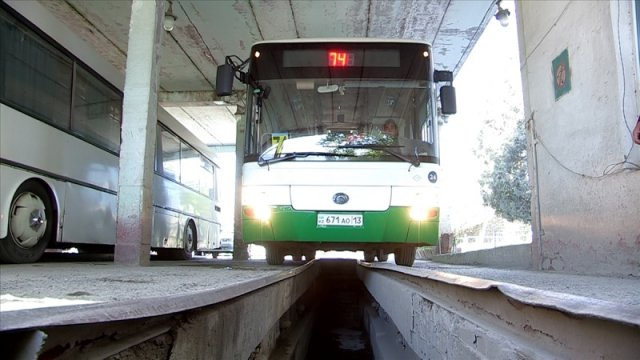 Самые популярные городские маршруты Шымкента не вышли сегодня на линию