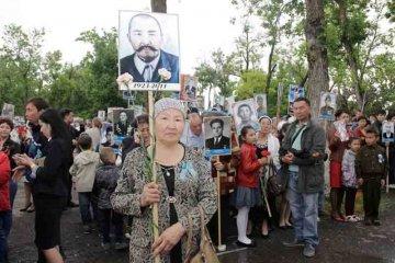 Дочь фронтовика Тамабаева Оразымбека
